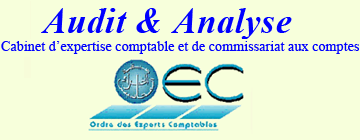Audit & Analyse, Cabinet d'expertise comptable et de commissariat aux comptes