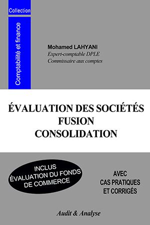 ÉVALUATION DES SOCIÉTÉS – FUSION – CONSOLIDATION